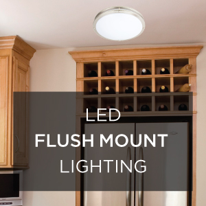 LED Flush Mount Lighting